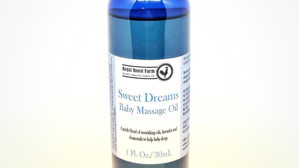 Sweet Dreams Baby Massage Oil