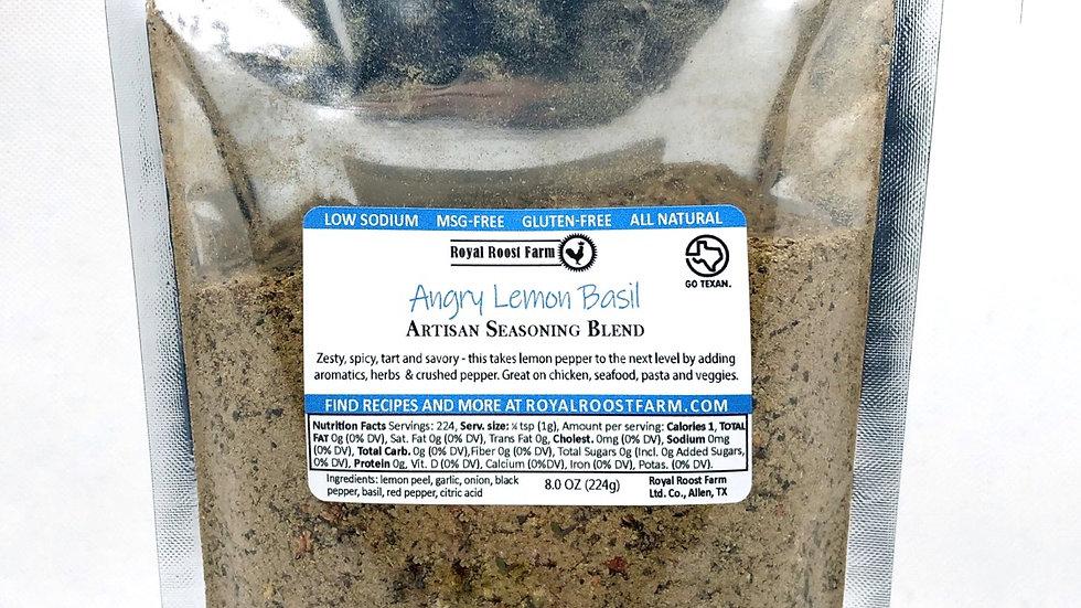 Angry Lemon Basil 8oz pack