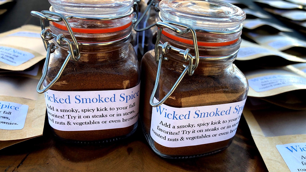 Wicked Smoked Spice, jar