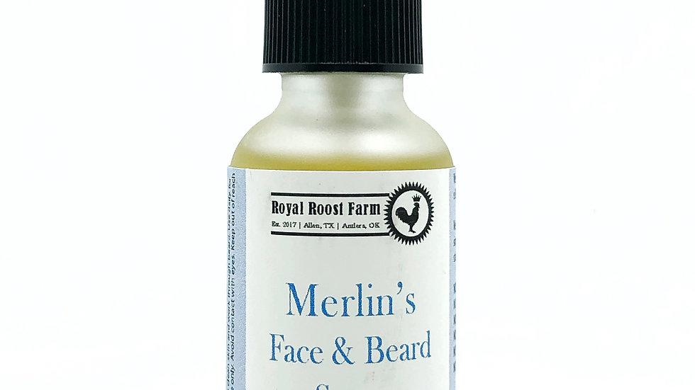Merlin's Face and Beard Serum