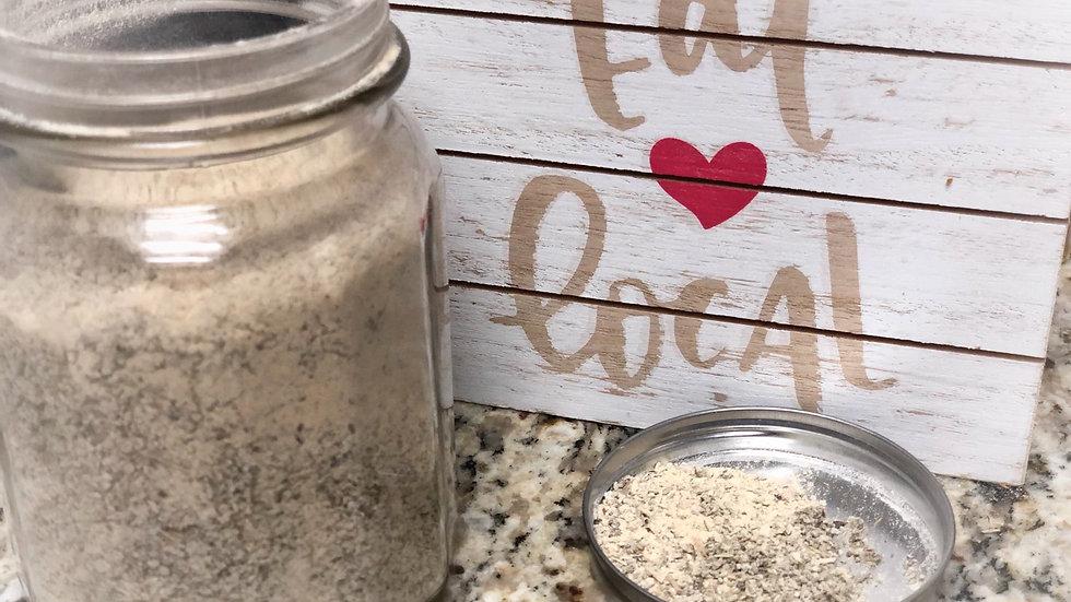 Garlic Pepper Sage, large jar