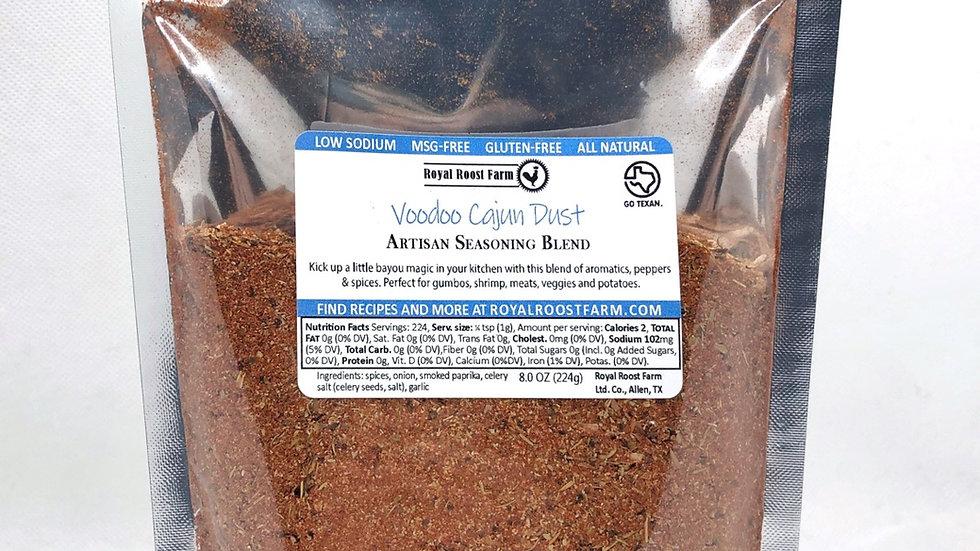Voodoo Cajun Dust, 8oz pack