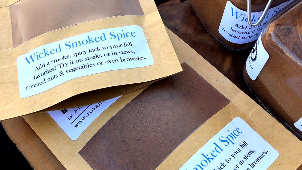 Wicked Smoked Spice, 1oz packet