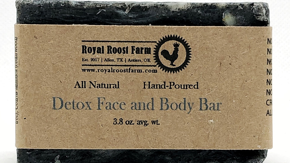 Detox Face and Body Bar