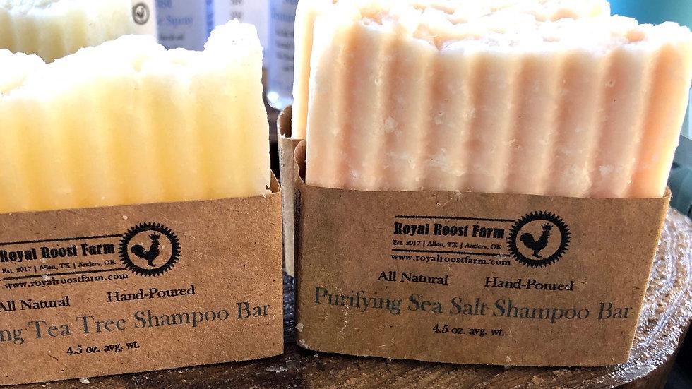 Purifying Sea Salt Shampoo Bar