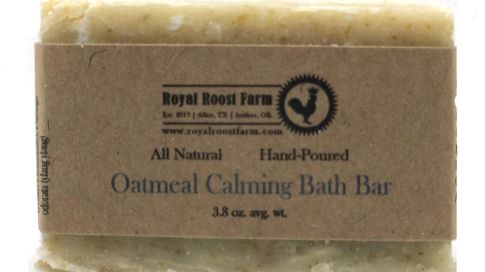Oatmeal Calming Bath Bar