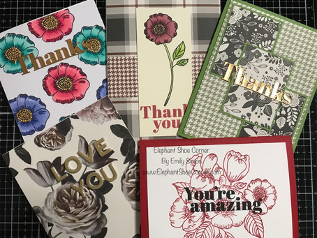 5 Cards 1 Kit | Simon Says Stamp October 2019 Card Kit of the Month