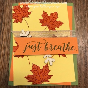 Just Breathe Fall In