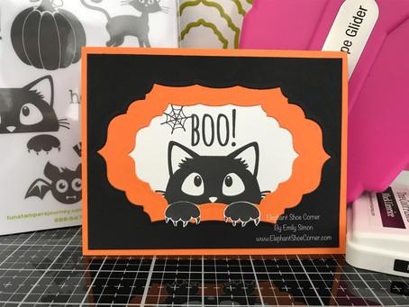 Peek-A-BOO Kitty | Spellbinders/FSJourney