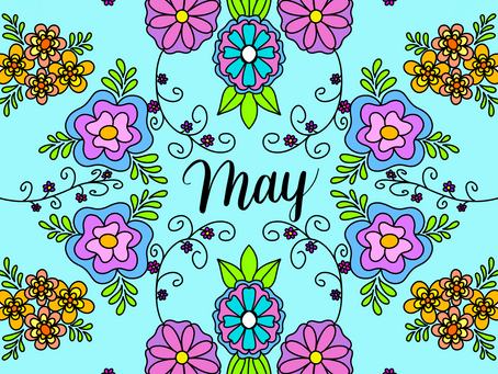 May - Doodle Floral Art