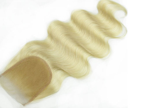 European Blonde Lace Closure