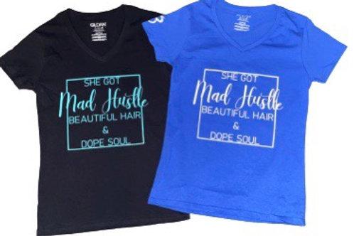 Mad Hustle shirt (Blue)