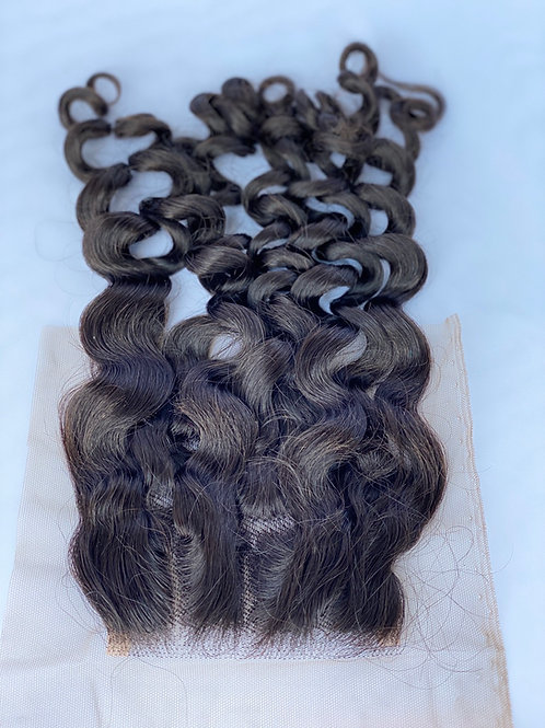 Bohemian Curls Lace Closure