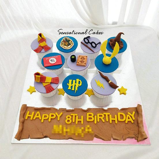 Wizard Magic Customized Cupcake