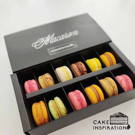 Macaron ( 12 pcs set ) Mixed Assorted