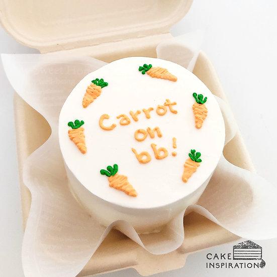 Carrot Round Bento Cake (R23)