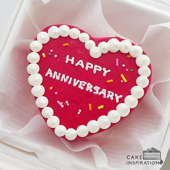 Red Heart Bento Cake (H05)