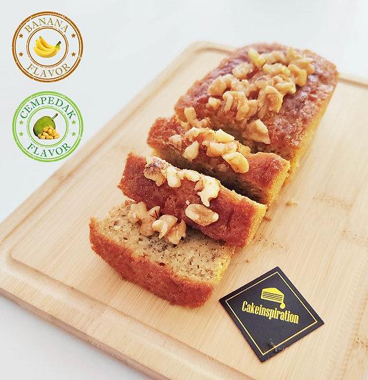 Suji Cake - Banana / Cempedak Flavor