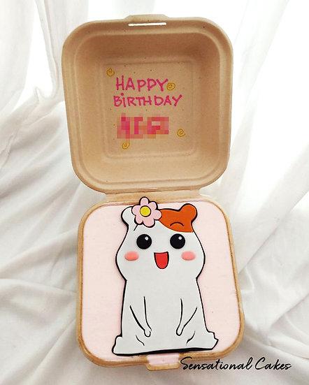 Cute Pet Mouse Bento 2D Customized Mini Cake