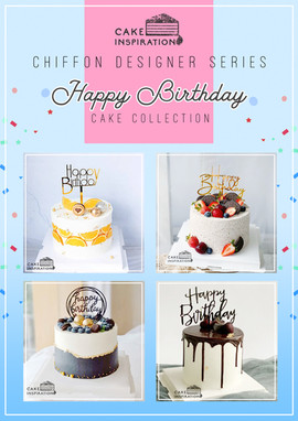 Happy Birthday Cake Collection