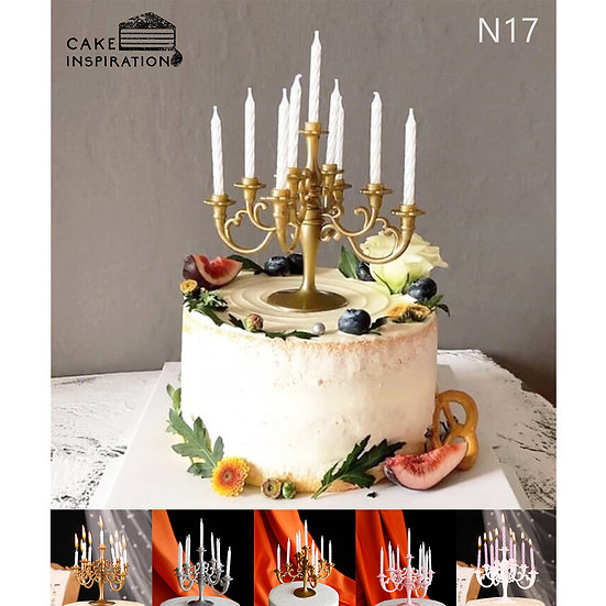 (N17) Simple Fruity Victorian Style Cake - 6inch
