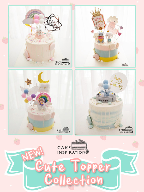 NEW! Cute Topper Collection