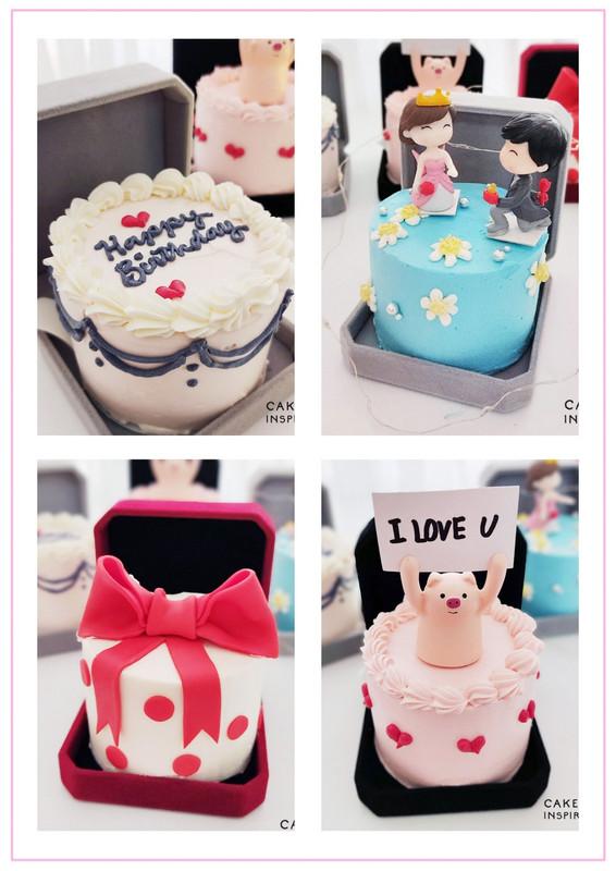 Jewel Box Bento Cakes