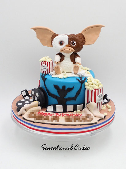 Mini Monster Children Theme 3D Figurine Customized Cake