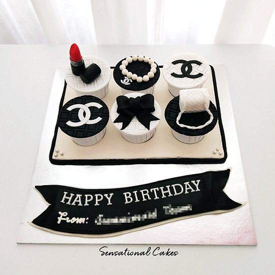 Luxury Brand for Women Customized Cupcake