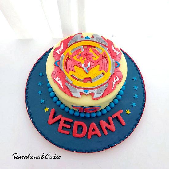 Blade Anime Design Children Customized Cake