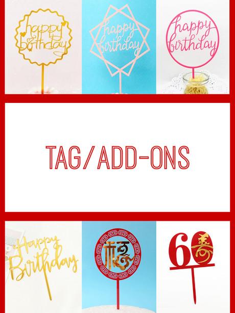 Tag/Add-ons