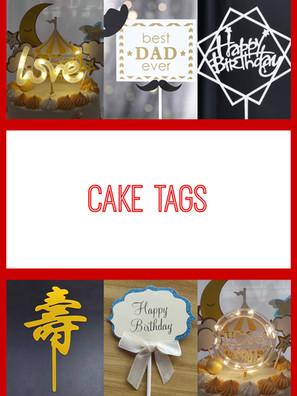 Cake Tags