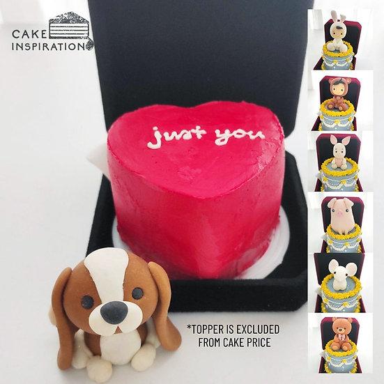 Heart Jewel Box Bento Cake