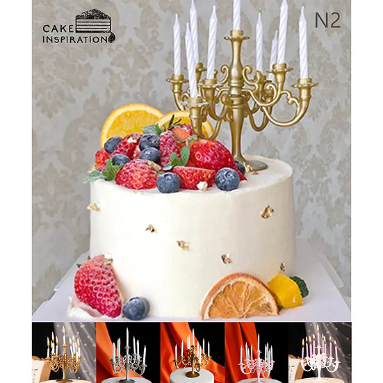 (N2) Mixed Fruit Victorian Style Cake - 6inch