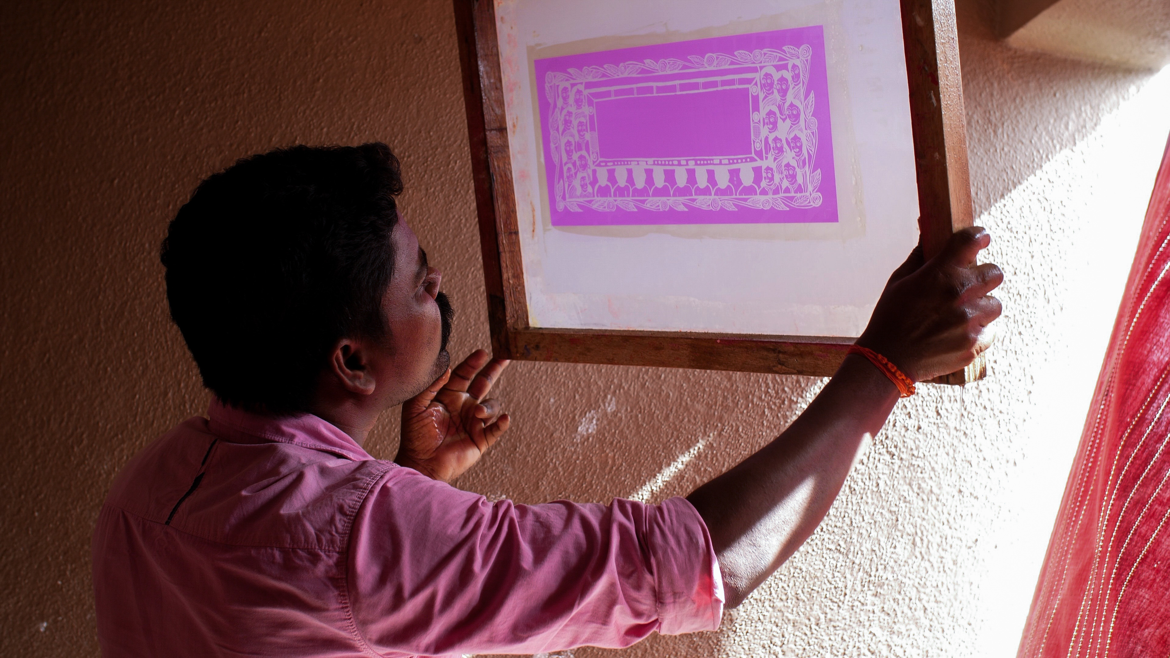 南インド、タラブックスの印刷工房の一日