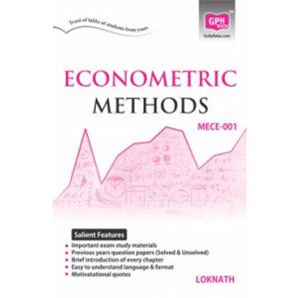 MECE-001 Econometric Methods