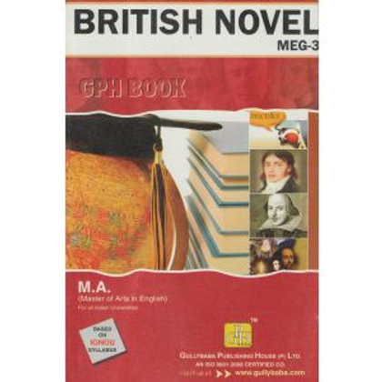 MEG-3 British Novel IGNOU GPH HELP BOOK