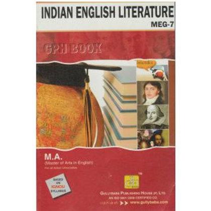 MEG-7 Indian English Literature GPH HELP BOOKS