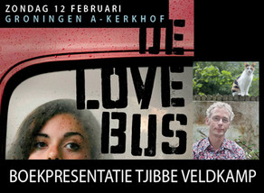 Boekpresentatie Tjibbe Veldkamp zondag 12 februari
