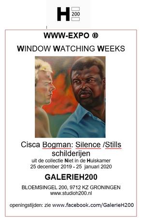 WindowWatching bij GalerieH200 t/m 25 januari 2020 in Het Paleis Groningen