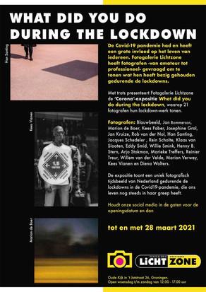 Reserveer: What did you do during the lockdown - Foto-expositie Lichtzone Groningen t/m 28 maart