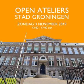 Open Ateliers Stad Groningen 2019, zondag 3 november 13.00 uur