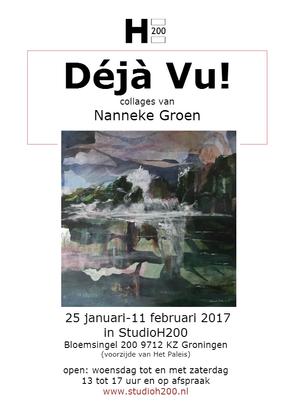 Déja Vu! Expositie van Nanneke Groen in Studio H200 - 25 januari tot 11 februari