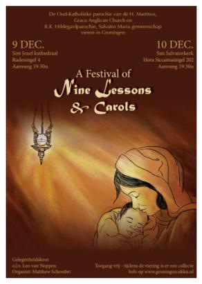 Het bestuur van Het Paleis zingt! A festival of nine lessons and carols