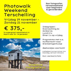 Wisemicefotografie organiseert Photowalk Weekend op Terschelling - 19 - 21 nov 2021