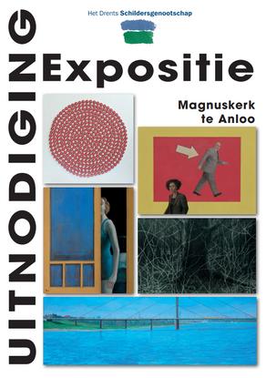 Paleizenaar Flip Drukker expositie Magnuskerk Anloo 26 aug t/m 10 sept