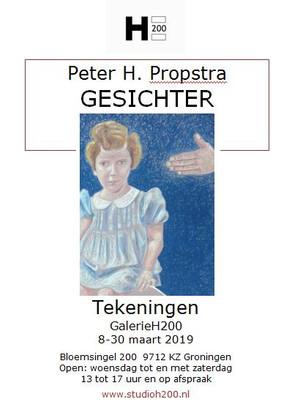 Expositie in GalerieH200 8 - 30 maart 2019 - Gesichter