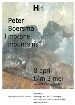 I Morph Mountains - solo expositie van Peter Boersma in Het Paleis