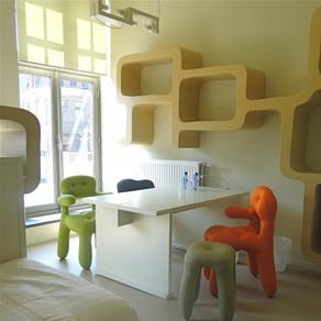 Hotelkamer 'Surrealisme' in Het Paleis
