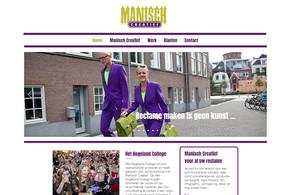 Manisch Creatief heeft nieuwe website